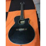 Guitarra Electro Acústica Ibanez Aeg8e-bk