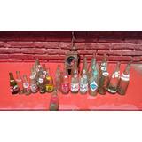 Farol Ferroviario Con Botellas Antiguas