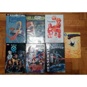Lote De Tpbs Marvel, Dc Vertigo, Subasta $1!!