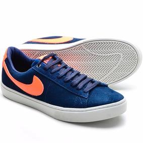 Tenis,sapatenis Nike Sb Masculino,preto,couro Original