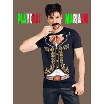 Playeras De Charro Mexicano Independencia Disfraz