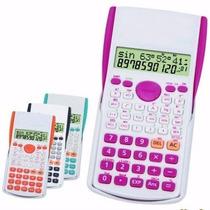 Calculadora Científica Fx-82ms 240 Funções 2 Linhas + Capa