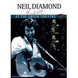 Dvd - Neil Diamond - Live - At The Greek Theatre 1976