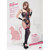 Disfraz Gatita Gatúbela Cat Disfraces Erótico Sexy Sensual