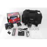 Cámara Réflex Canon T5i / Lente 18-55mm / Flash 270ex Ii