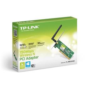 Adaptador De Red Tp-link Pci 150mbps 1 Antena Tl-wn751nd