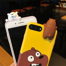 Case Funda Iphone 7 Plus Figuras Cartoon Lindos Familia Osos