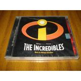 Cd Soundtrack Pelicula The Incledibles (nuevo Y Sellado)