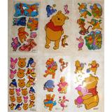 Calcomanías Stickers Winnie The Pooh Disney 7x13 Cm Lamina