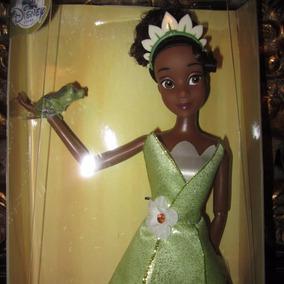 Barbie Negra Princesa Tiana Parques Disney Con Sapo Naveen