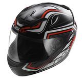 Casco Integral Ls2 Ff352 Rookie Ranger Negro/rojo