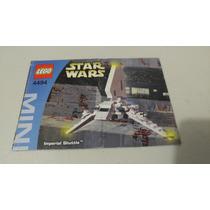 Lego 4494 Imperial Shuttle Star Wars Instructivo O Manual