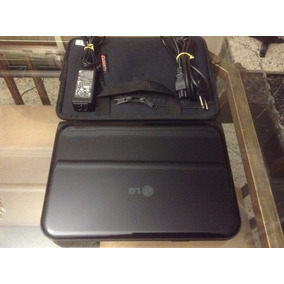 Lindo Netbook Lg X170 2gb Ram 500gb Hd + Case Novo