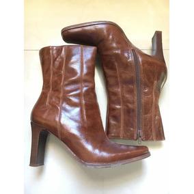 Botas De Cuero Color Miel - Zapatos Mujer en Mercado Libre Venezuela 9f6268ba80eed