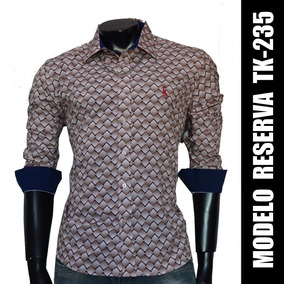 Camisa Social Slim Fit Tk-235