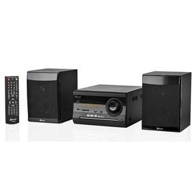 Mini System Amplificado Usb Sd Card Cd Dvd Fm Karaoke 20w