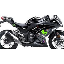 Adesivo Moto Kawasaki Ninja 300 Carenagem