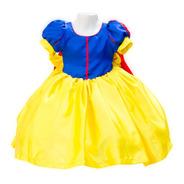 Vestido Blancanieves Princesa Disfraz