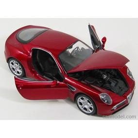 Auto Alfa Romeo 8c Welly Metal 124 Mi Cielo Azul