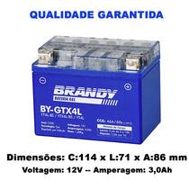 Bateria Honda 100 C 100 Dream Original Brandy Gel Gtx4l
