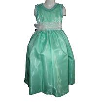 Nuevo Vestido Largo 5-6 Años Paje Princesa Fiesta