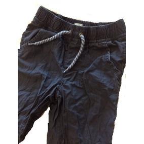 Pantalon Algodon Baby Gap Azul Talla 4 Envio Gratis!!
