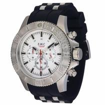 Relógio Ewc Extra Grande 10atm Estilo Invicta