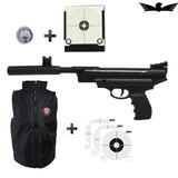 Pistola De Pressão Hatsan Ht25 4,5 +coletor +chumbo +colete