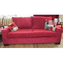 Sofa Ana 2 Cpos En Chenille Look
