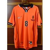 Camisetas Seleccion Holanda 1998 Bergkamp Seedorf Davids