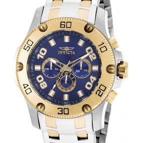 Relógio Invicta Scuba Pro Diver 19231 - Prata Masculino