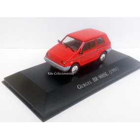 Miniatura Gurgel Br 800 1/43 Carros Inesquecíveis Brasil L