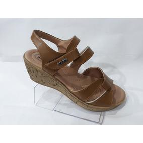 6bf54dea598 Zapatos Yessica De Cuero Con Tacón Color Camel - Zapatos de Mujer en ...
