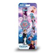 Reloj Digital Pulsera Infantil Disney Juguete Proyector