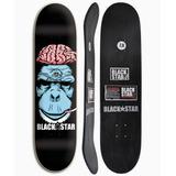 Shape De Skate Semi Pro +lixa Grátis Black Star Cerebro 7.8