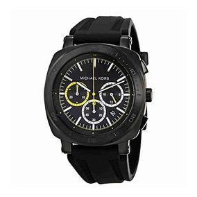 Michael Kors Hombres Bax Negro Reloj Mk8554