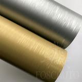 Adesivo Vinil Envelopamento Aço Ou Ouro Escovado - 3m X 50cm