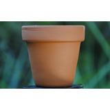 Macetas Macetitas Barro Mini Nro 5 Bonsai Cactus Souvenir