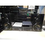 Amplificador Radio Ecualizador Bafles Technics Acutron-audio