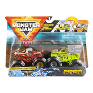 Monster Jam Truck Carrinhos Wonder X Avenger 1:64 Sunny 2020