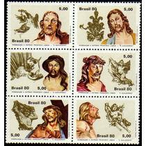 Brasil C 1177/82 Escultura Sacra Aleijadinho Jesus 1980 Nnn