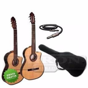 Guitarra Electro Criolla Fonseca 40kec O 41kec + Regalos!!