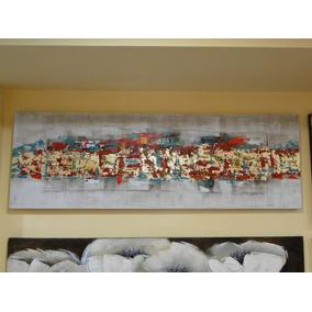 Cuadro Rectangular Abstracto Decoracion Hogar