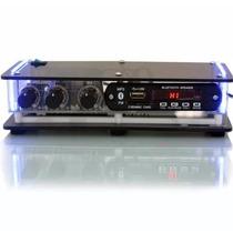 Receiver Orion Bluetooth 1002bt Usb Sd 40w 2 Canais+controle