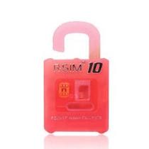 Liberar Desbloquear Iphone R-sim 10+ 4s 5 5c 5s 6 6s 6+ Roja