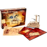 Leonardo Da Vinci Revell Kit Em Madeira P/ Montar Impressora