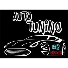Adesivo Clube Auto Tuning H2 _ C8h18