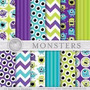 Kit Imprimible Pack Fondos Monsters University 3 Clipart