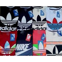 Camiseta Hombre Adidas,nike Tommy, Aero ,hollister, S,m,l,xl