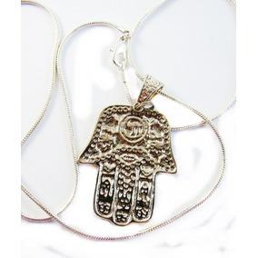 Pingente Hamsa Amuleto De Proteção Mão De Fátima, Deus